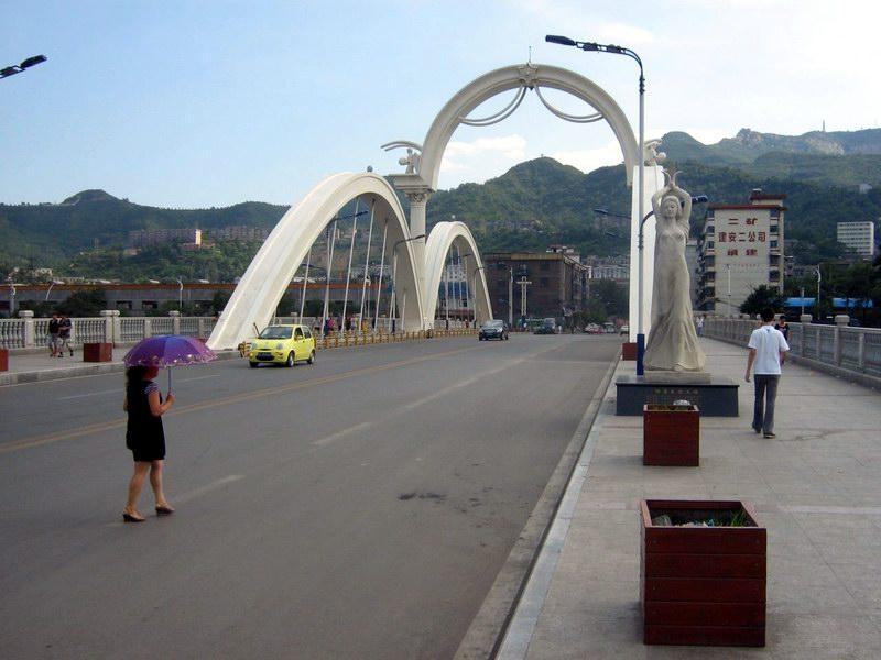 阳泉阳_阳泉市阳煤大桥——【中国桥】